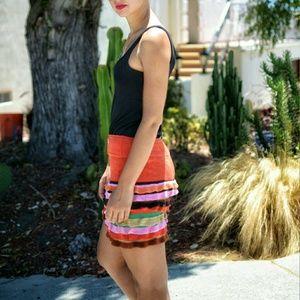 Diane Von Fustenberg knit skirt